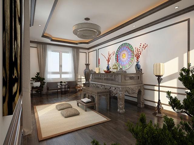 Nguyên tắc bố trí bàn thờ Phật và gia tiên