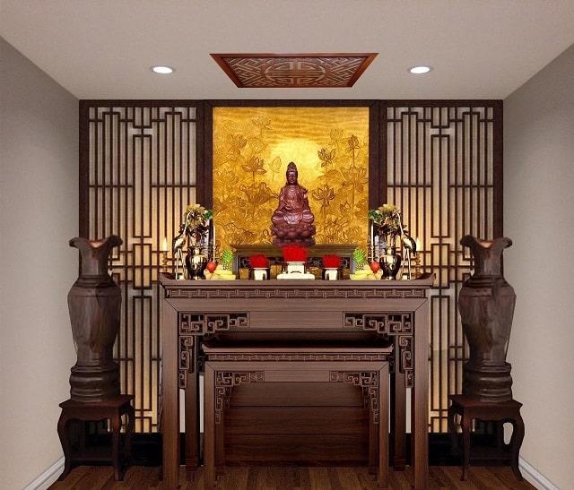 Ý nghĩa tâm linh của bàn thờ Phật Bà Quan Âm trọng mỗi gia đình