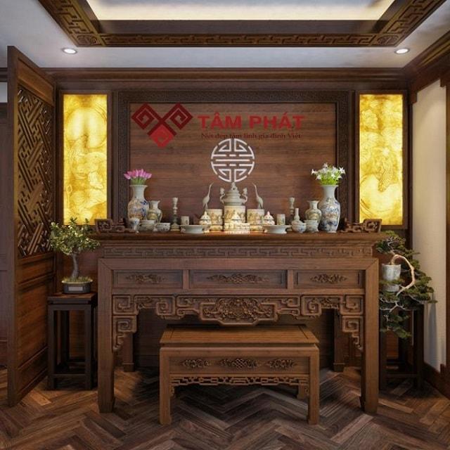 Tâm Phát địa chỉ cung cấp bàn thờ gỗ mít uy tín, chất lượng