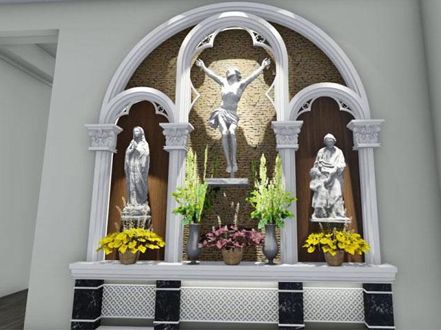 Bàn thờ của người Công Giáo có thể hiểu là bàn tiệc của Chúa