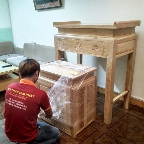 Feedback lắp bàn thờ căn hộ 150m2 cc Lavita Chram, Thủ Đức