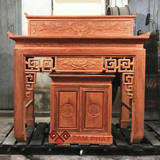 mẫu bàn thờ đơn giản