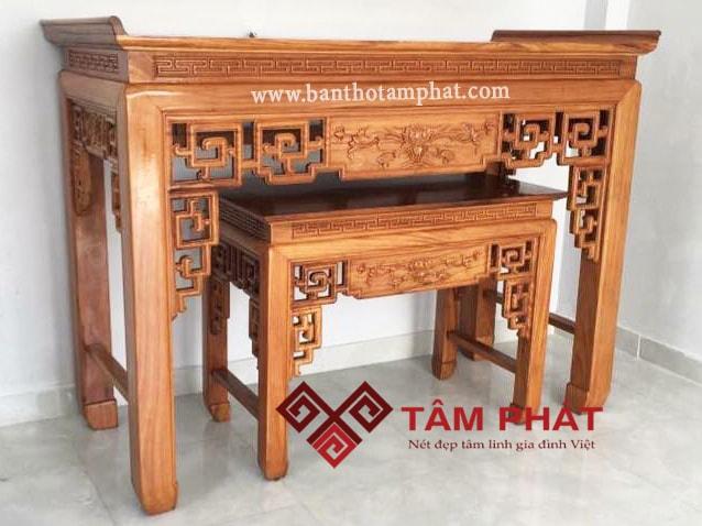 Bàn thờ hiện đại Tâm Phát vững tâm đồng hành cùng khách hàng