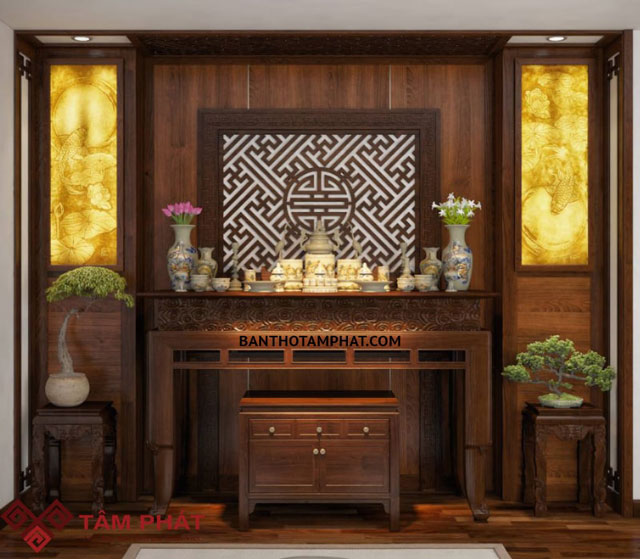 Cập nhật giá bàn thờ gỗ gụ