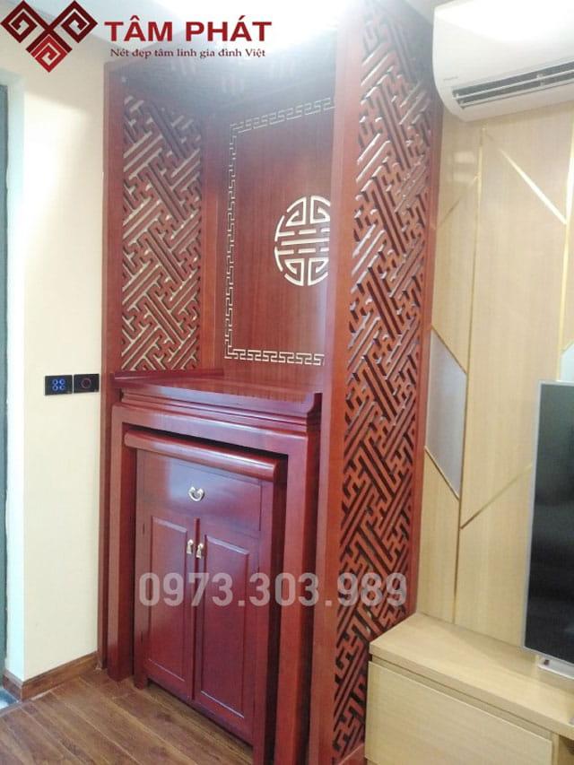 Giá bàn thờ gỗ hương tại cửa hàng Bàn thờ gỗ Tâm Phát