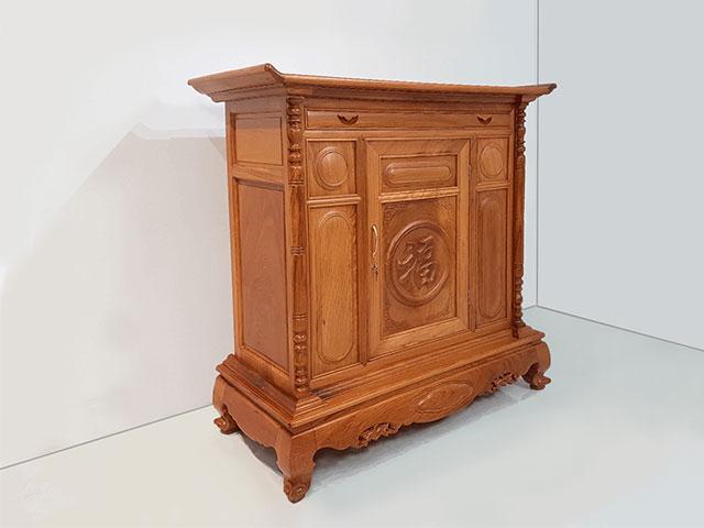 Lựa chọn kích thước tủ thờ phù hợp giúp mang đến tài lộc