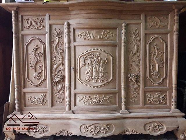 Tủ thờ gỗ gụ Tâm Phát