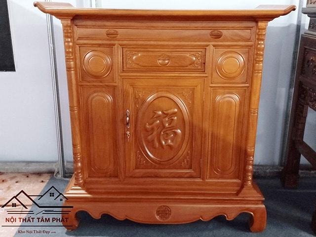 mẫu tủ thờ đơn giản, mẫu bàn thờ đơn giản đẹp