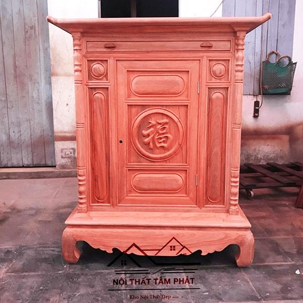 Tủ thờ gỗ hương Tâm Phát