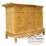 Tủ thờ gỗ Mít cao cấp mẫu BTM012