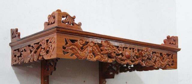 Kích thước bàn thờ treo tường theo thước lỗ ban