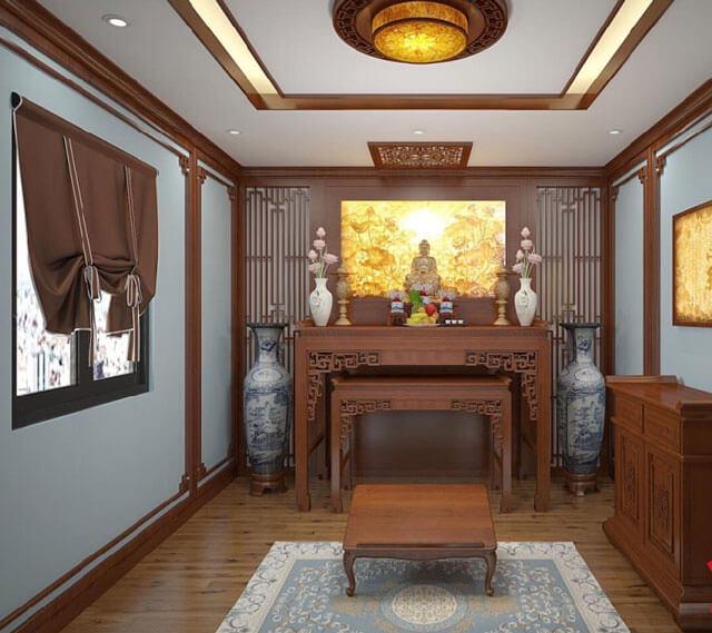 Phong thủy bàn thờ giúp không gian trang trọng hơn. Lựa chọn kích thước bàn thờ theo phong thủy, cách bày bàn thờ theo phong thủy và kiêng kỵ khi đặt bàn thờ, Cách hóa giải hướng bàn thờ xấu