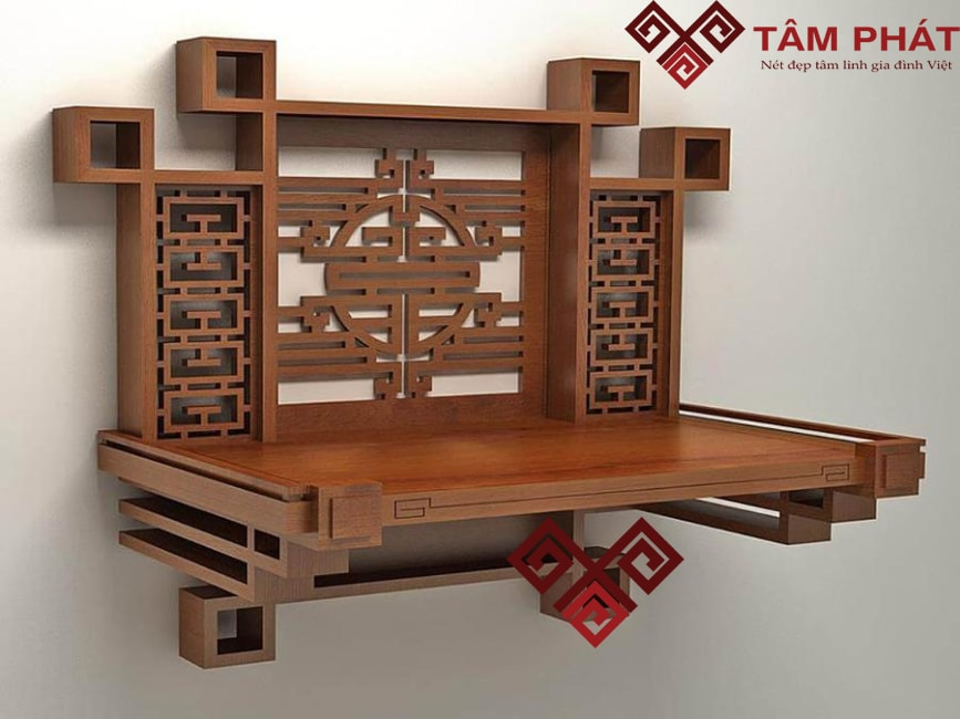 Bàn thờ gỗ Tâm Phát bán bàn thờ gỗ mít giá rẻ, chất lượng