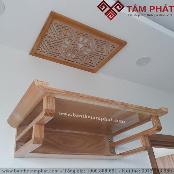 Mẫu bàn thờ BTG2029 treo tường của Tâm Phát