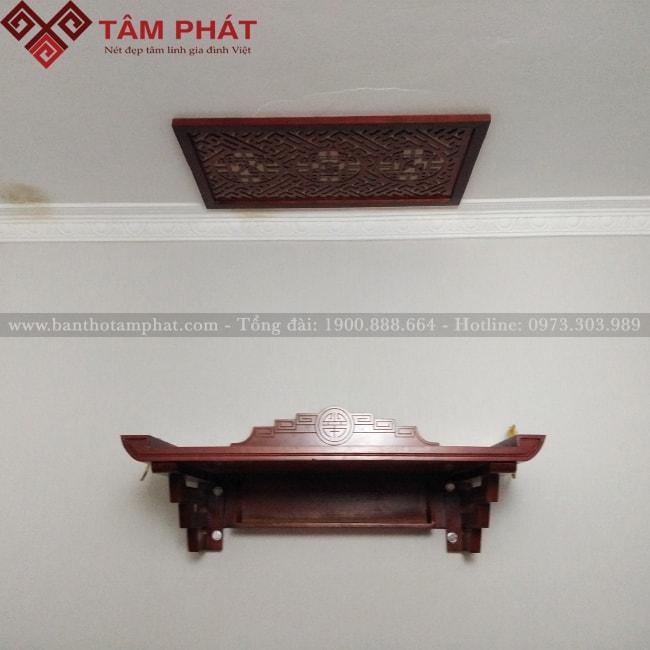 Mẫu Bàn Thờ Treo Tường Đẹp GTG2050 - Ảnh 2