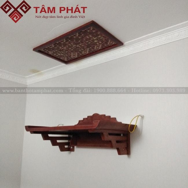 Mẫu Bàn Thờ Treo Tường Đẹp GTG2050 - Ảnh 1