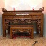 Mẫu bàn thờ gỗ đẹp Tâm Phát BTG1024