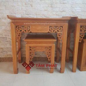 Bàn thờ gỗ Tâm Phát