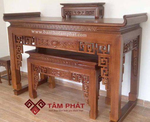 Đốt bàn thờ cũ là cách xử lý bàn thờ cũ chuẩn nhất