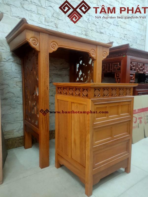 Sản phẩm gỗ gõ rất chắc chắn và bền đẹp