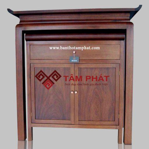 Mẫu bàn thờ đứng hiện đại Tâm Phát BTG1021
