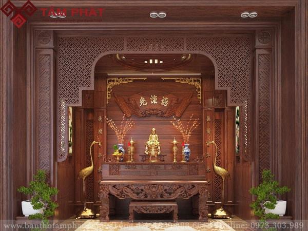 mẫu sập thờ đẹp Tâm Phát