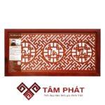 Tấm chống ám khói 41×81 Phúc-Lộc-Thọ (Việt) – Nâu