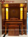 Mẫu bàn thờ gỗ BTG1061