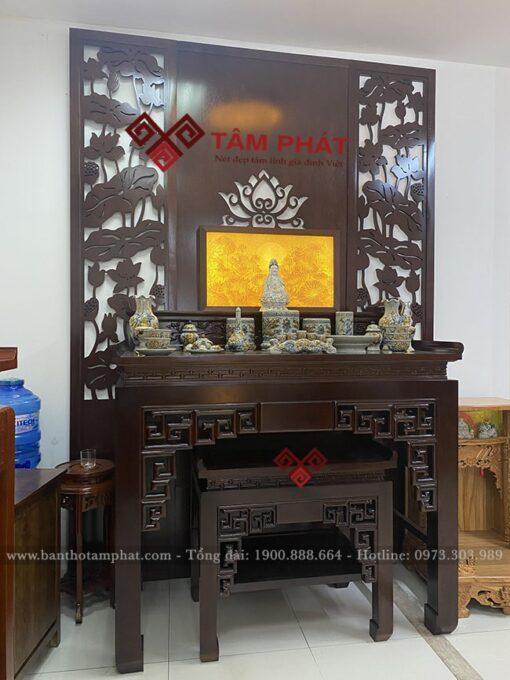 Sự kết hợp độc đáo chung cho thờ Phật và gia tiên