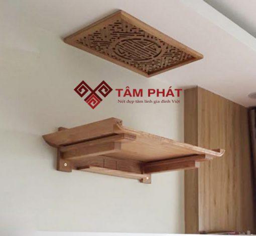 Mẫu bàn thờ treo tường BTG2018 của Tâm Phát