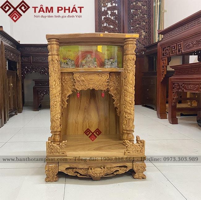 Mẫu bàn thờ thần tài BTT - 3302 tại Tâm Phát