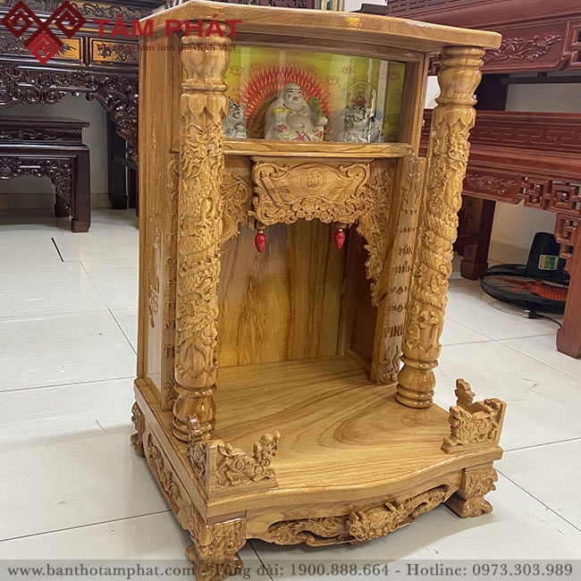 Feedback mẫu bàn thờ thần tài BTT - 3302 tại Tâm Phát của chị Thu