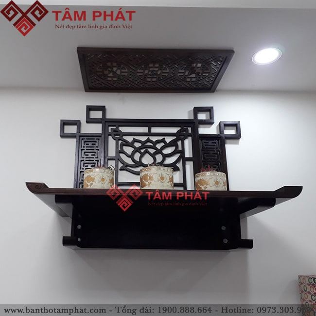 Mẫu bàn thờ treo tường BTG2054