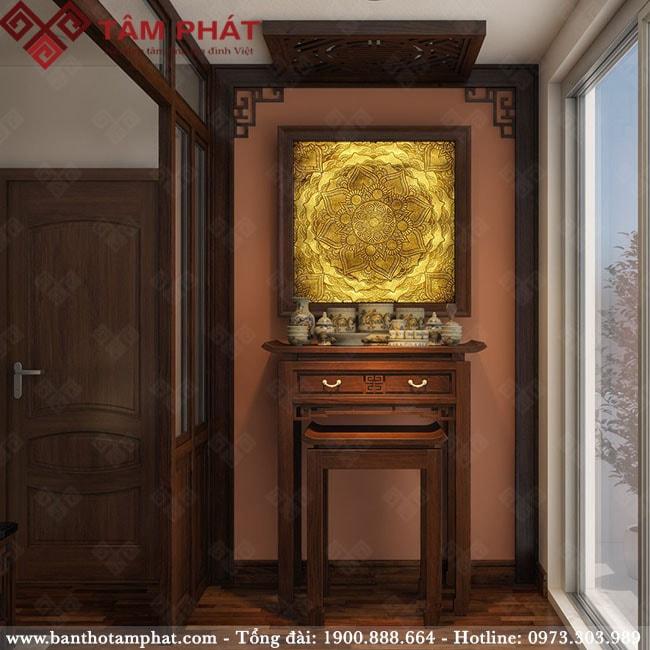Mẫu bàn thờ ấn tượng của Bàn thờ gỗ Tâm Phát