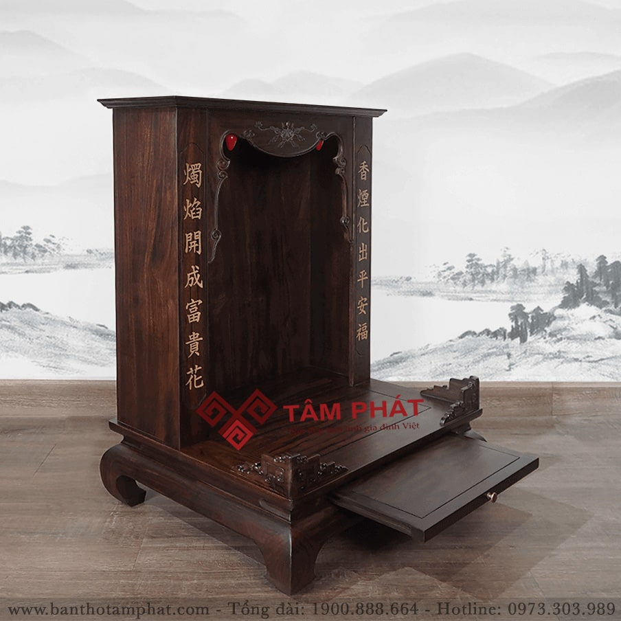 Bàn Thờ Thần Tài Đẹp Mẫu BTTG3305