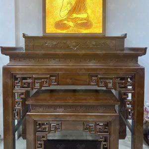 Bàn thờ gỗ Gụ mẫu BTG1063