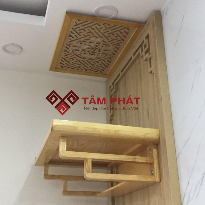 Chất liệu gỗ Hương có mùi thơm nhẹ