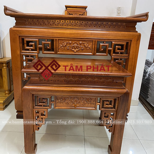 Mẫu bàn thờ phù hợp với mọi không gian căn hộ