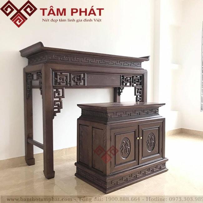 Tâm Phát hỗ trợ lắp đặt bàn thờ tận nhà