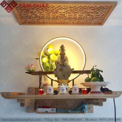 Mẫu bàn thờ Phật treo tường BTG2095