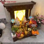 Mẫu bàn thờ Thần Tài Ông Địa BTT-3311