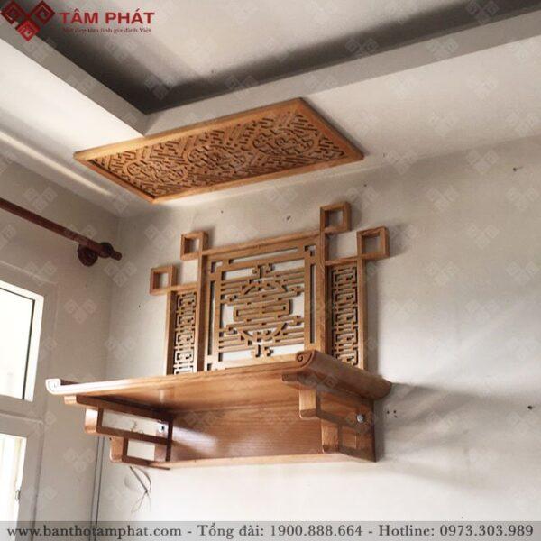 Bàn thờ treo kích thước 48x89 được nhiều gia chủ sử dụng