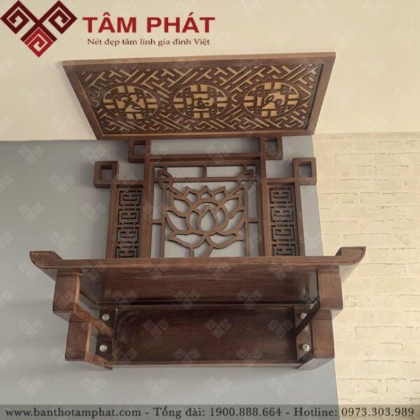 Kích thước bàn thờ treo tường chuẩn phong thuỷ