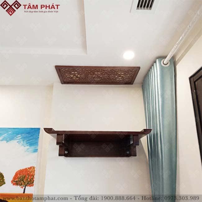 Bàn thờ treo TT2021 kích thước vừa cho nhà chung cư